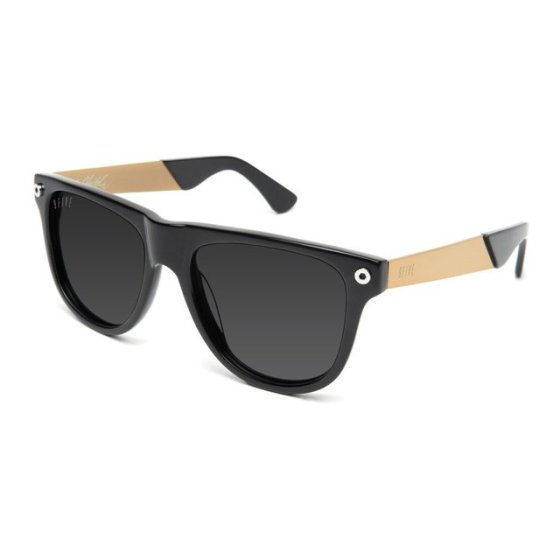 KLS black & gold polarized sunglasses by 9five